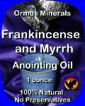 Ormus Minerals Frankincense & Myrrh Anointing Oil