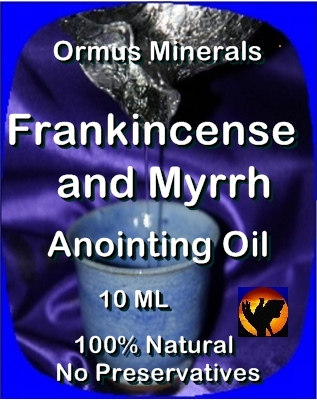 Ormus Minerals Anointing Oil with Frankincense and Myrrh