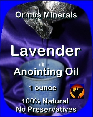 Ormus Minerals Anointing Oil with Lavender