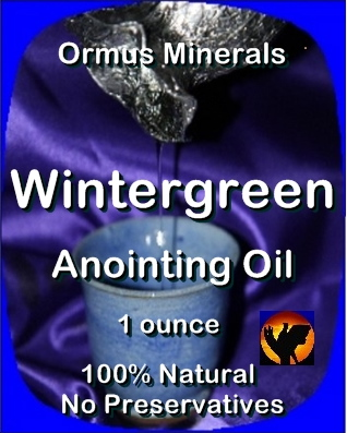 Ormus Minerals Anointing Oil with Wintergreen