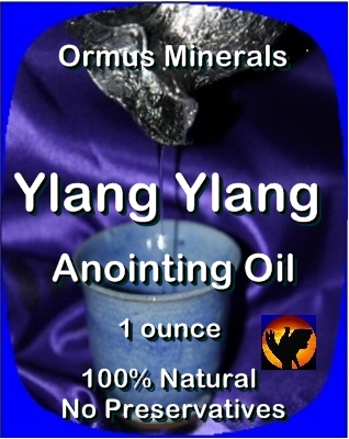 Ormus Minerals Anointing Oil with Ylang Ylang