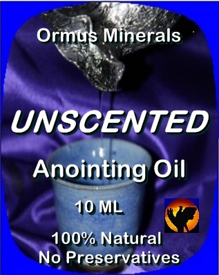 Ormus Minerals Anointing Oil Unscented