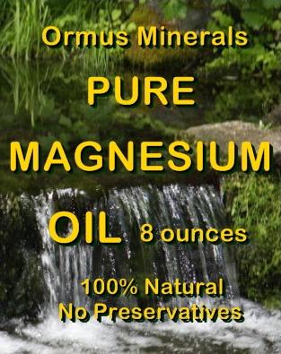 Ormus Minerals -Pure Magnesium Oil