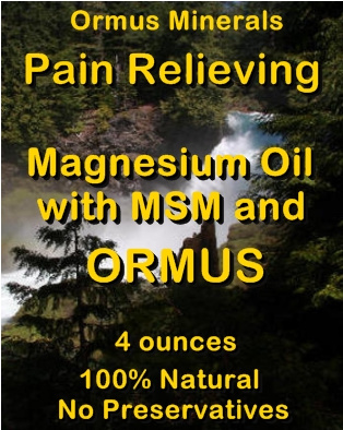 Ormus Minerals Restoring Skin Conditioner with Magnesium Oil