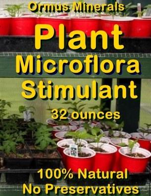 Ormus Minerals -PLANT MICROFLORA Stimulant