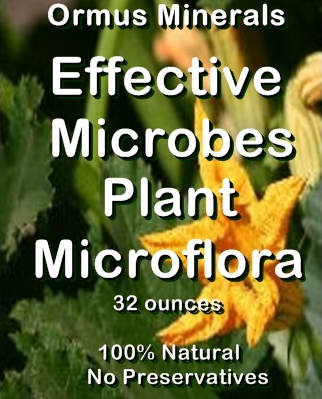 Ormua Minwerals -Effective Microbes Plant MICROFLORA Stimulant