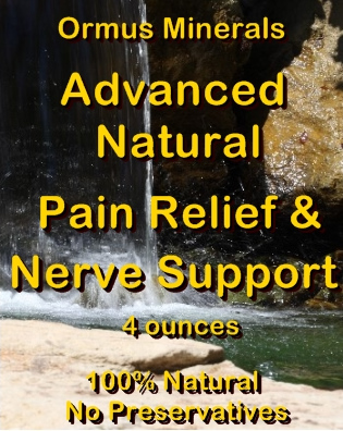 Ormus Minerals Advanced Natural Pain Relief and Nerve Support