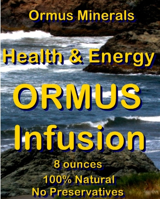 Ormus Minerals -Ormus Infusion