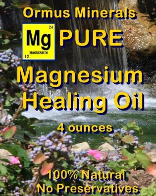 Ormus Minerals Magnesium Healing Oil