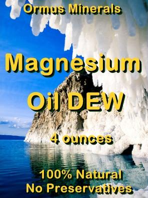 Ormus Minerals -Magnesium Oil DEW