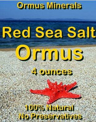 Ormus Minerals Red Sea Salt Ormus