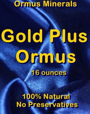 Ormus Minerals Gold Plus Ormus