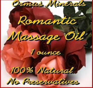 Ormus Minerals -Ormus Minerals ROMANTIC Massage Oil
