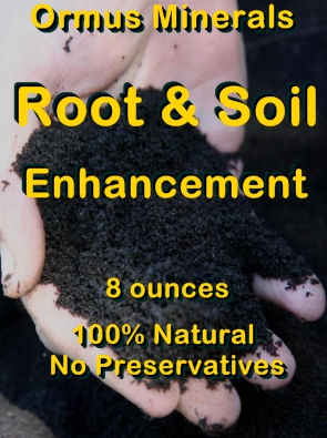 Ormus Minerals -ROOT and SOIL Enhancement (Concentrate)