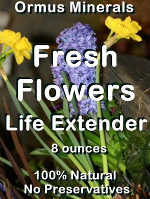 Ormus Minerals -Fresh FLOWERS Life Extender