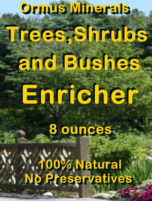 Ormua Minerals -Trees Shrubs amd Bushes Enricher