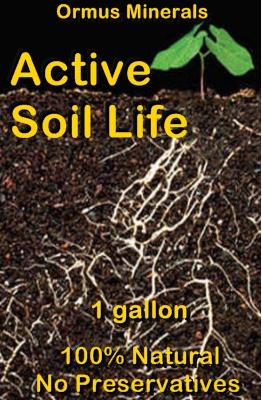 Ormus Minerals -Active Soil Life