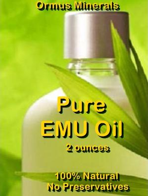 Ormus Minerals -Pure EMU OIL