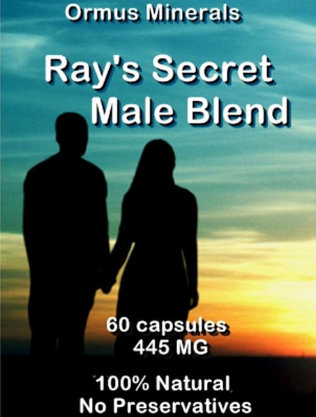 Ormus Minerals -Ray's Secret Male Blend