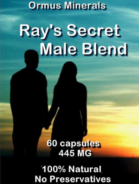 Ormus Minerals -Ray's Secret Male Blend
