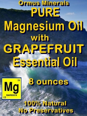 Ormus Minerals Pure Magnesium Oil with Grapefruit E O