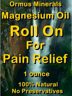 Ormus Minerals -Magnesium Roll On for Pain Releif