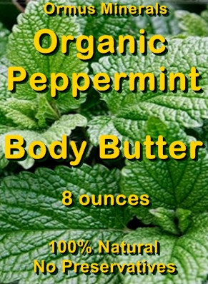 Ormus Minerals -Organic Peppermint Body Butter