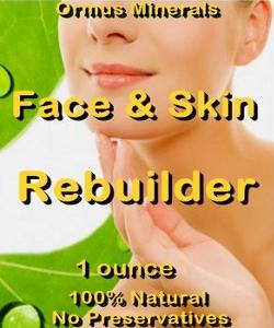 Ormus Minerals -Face and Skin Rebuilder