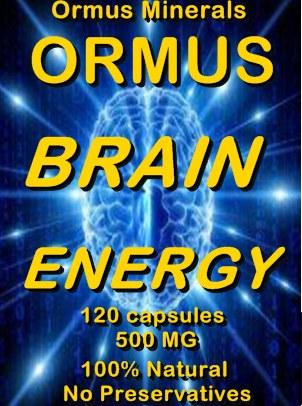 Ormus Minerals -ORMUS Brain Energy