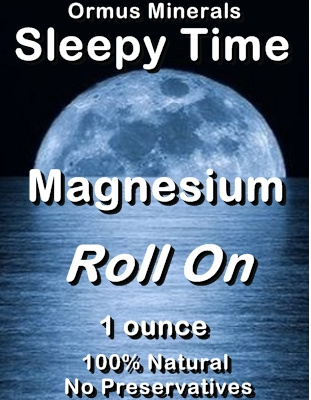 Ormus Minerals - Sleepy Time Magnesium Roll On