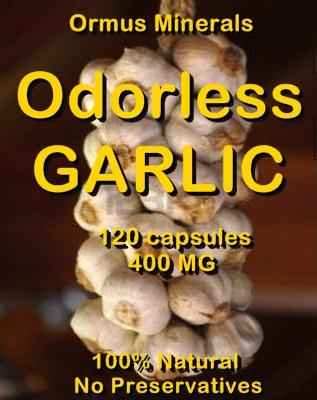 Ormus Minerals -Ordorless GARLIC