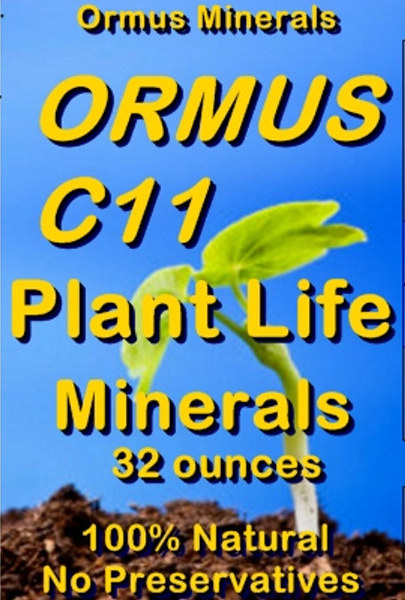Ormus Minerals Ormus C11 Plant Life Minerals