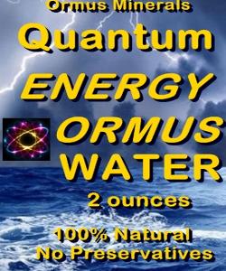 Ormus Minerals - Quantum Energy Ormus Water