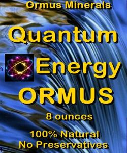Ormus Minerals - Quantum Energy Ormus