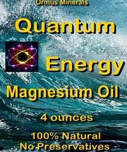 Ormus Minerals - Quantum Energy Magnesium Oil