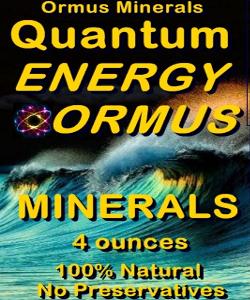 Ormus Minerals - Quantuim Energy Ormus Minerals