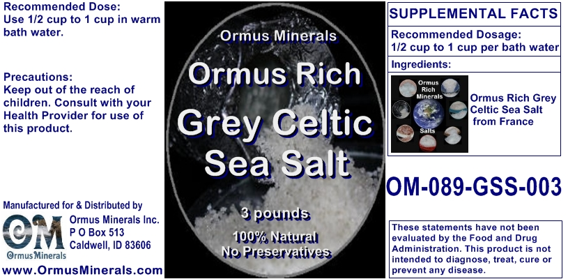 Grey Sea Salt