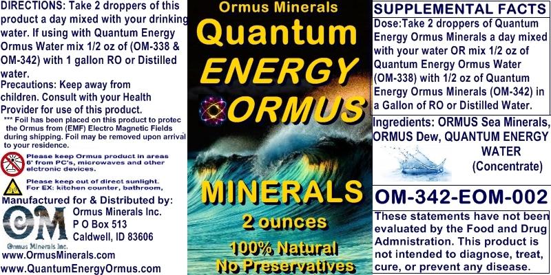 Ormus Minerals