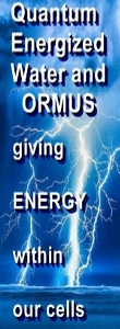 Ormus Minerals Quantum Energy Ormus Water - Nano size to work better in our cells