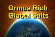 Ormus Rich Global Salts